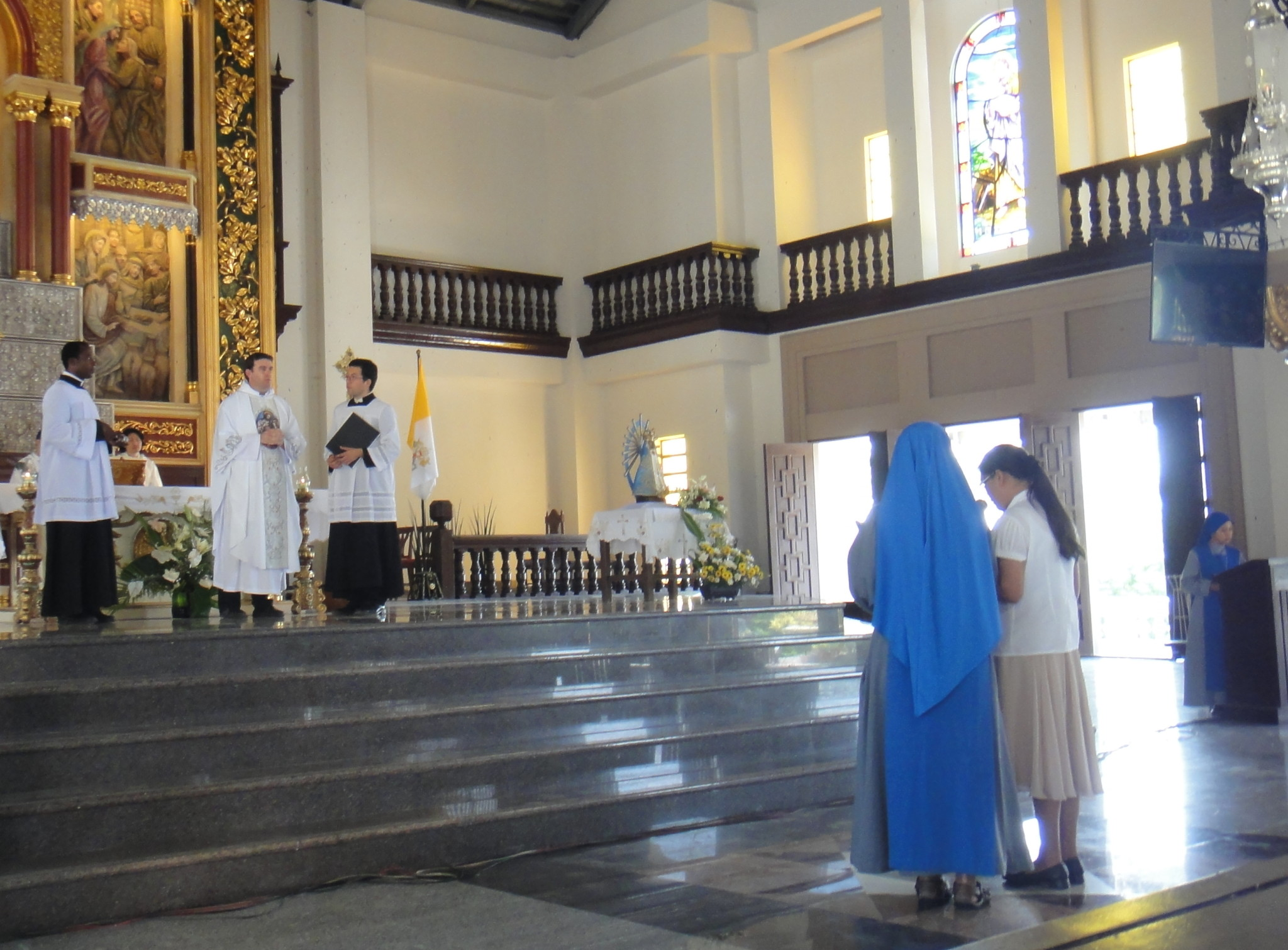 Third Order Member with Private Vows